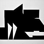 Anders Sletvold Moe: Cut out nr. 2, 2014, 70 x 88,5 cm