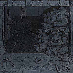 Christoffer Fjeldstad: Room, 2015, 200 x 210 cm