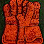 Christoffer Fjeldstad: Gloves, 2016, 50 x 40 cm