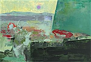 Dag Thoresen, Fjære, 2015, 110 x 160 cm