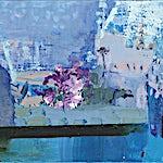 Dag Thoresen: Blomst, for Sissel P., 2016, 60 x 70 cm