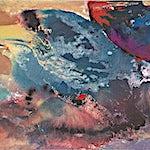 Dag Thoresen: Naturimpuls III, 2016, 43 x 193,5 cm