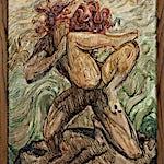 Emanuel Vigeland (1875 - 1948): skisse til Vita, 1929, 70 x 60 cm