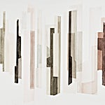 Espen Dietrichson: Glass, Stone 9, 2015, 76 x 105 cm