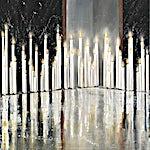 Frank Brunner: Balanse, 2013, 173 x 152 cm