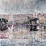 Frank Brunner: walking, 2006, 150 x 200 cm