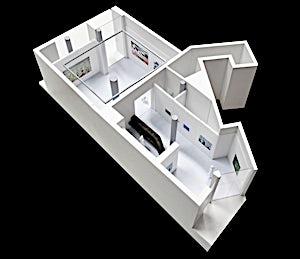 Galleri Haaken: Modell utformet av Superunion Architects, 2012