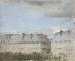 Halvard Haugerud, Fra Paris, 2008, 23 x 28 cm
