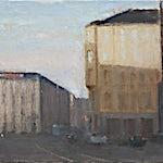 Halvard Haugerud: Fra Majorstua, 2009, 27 x 37 cm