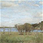 Halvard Haugerud: Mot Hemnessjøen, 2008, 30 x 43 cm
