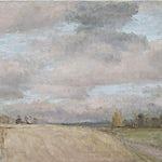 Halvard Haugerud: Varm himmel, 2011, 38 x 56 cm