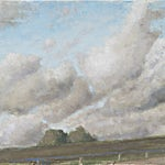 Halvard Haugerud: Fra veikanten, 2011, 31 x 46 cm