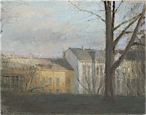 Halvard Haugerud, Fra Uranienborg, 2012, 26 x 33 cm