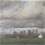 Halvard Haugerud: Homstvedt i april, 2012, 20 x 27 cm