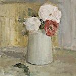 Halvard Haugerud: Tre roser, 2007, 27 x 25 cm