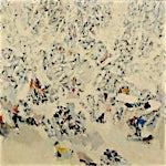 Halvdan Ljøsne: Første snefall, 1967, 87 x 116 cm