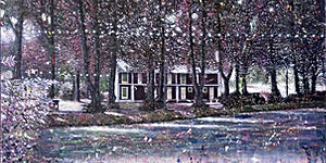 Henrik Kleppe Worm-Müller: House of widows, 2016, 150 x 200 cm