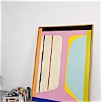 Henrik Placht: Ethical Column (white version), 2010, 150 x 110 cm