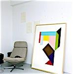 Henrik Placht: Warm Dark Matter, 2010, 150 x 110 cm