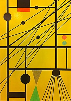 Henrik Placht, Totalitarianism complex (forstudie), 2010, 65 x 47 cm
