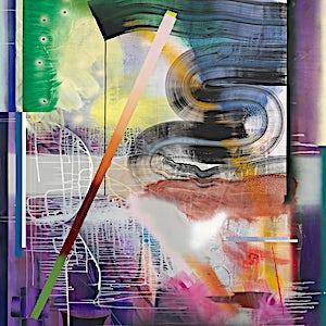 Henrik Placht: Permafrost I, 2016, 268 x 190 cm