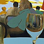 Kenneth Blom: Restaurant le César, 2013, 90 x 70 cm