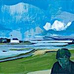 Kenneth Blom: Hvit sky, 2015, 130 x 150 cm