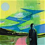 Kenneth Blom: I lanskap II, 2007, 160 x 180 cm