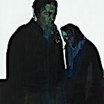 Kenneth Blom: Hvit himmel II, 2007, 120 x 100 cm