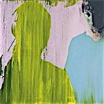 Kenneth Blom: Et møte II, 2007, 100 x 120 cm