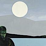 Kenneth Blom: Regn, 2008, 160 x 180 cm