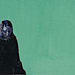 Kenneth Blom: Grønt rom, 2007, 80 x 90 cm