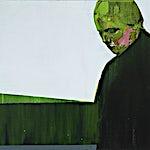 Kenneth Blom: Hvit himmel I, 2007, 80 x 90 cm