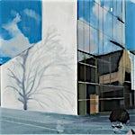 Kenneth Blom: Skyer, 2009, 140 x 160 cm