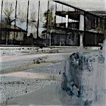 Kenneth Blom: Menn, 2009, 100 x 120 cm