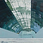 Kenneth Blom: Hangar, 2009, 140 x 160 cm