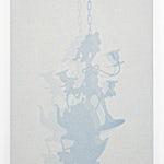 Lars Morell: Shadow Canvas 4, 2014, 90 x 60 cm