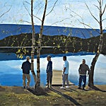 Marius Engstrøm: Something pure, something innocent, 2011, 120 x 150 cm