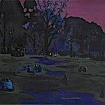 Marius Engstrøm: Strange form of life, 2011, 120 x 150 cm