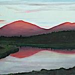 Marius Engstrøm: Call of the river, 2011, 114 x 146 cm