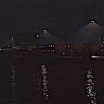 Marius Engstrøm: Havn, 2013, 35 x 40 cm