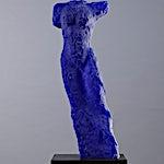 Nicolaus Widerberg: Veiviser blå, 2012, 70 x 28 cm