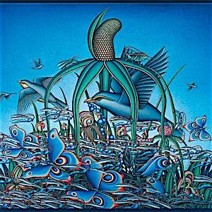 Ole Rinnan: Et ornamentalt fluktforsøk, 2008, 209 x 233 cm