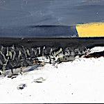 �rnulf Opdahl: Vinter i vest (studie), 2015, 26 x 35 cm