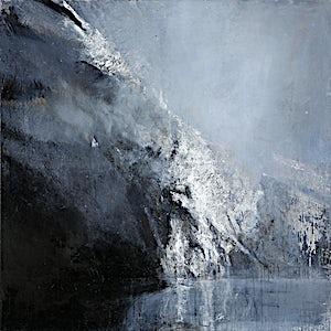 �rnulf Opdahl: Skjoldungen, 2015, 170 x 170 cm