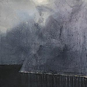 Ørnulf Opdahl: Lys langs fjorden, 2017, 140 x 140 cm