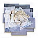 Øystein Tømmerås: Volum 3.b (mulig-vei-fra-A-til-B-etter-lunsj-mix), 2010, 188 x 194 cm