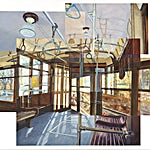 Øystein Tømmerås: Volum 3.h (ved-siste-stopp-på-linjen-i-240˚-mix), 2011, 120 x 150 cm
