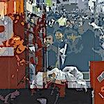 Øystein Tømmerås: IMG20070331_03, 2007, 140 x 280 cm