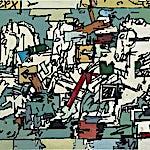 Per Morten Karlsen: Marmorhestene, 2011, 110 x 130 cm